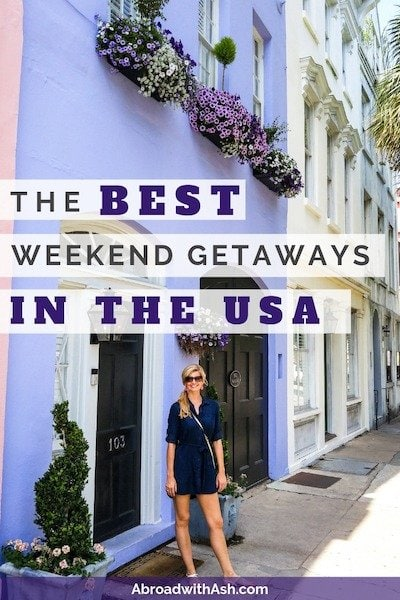 us weekend getaways