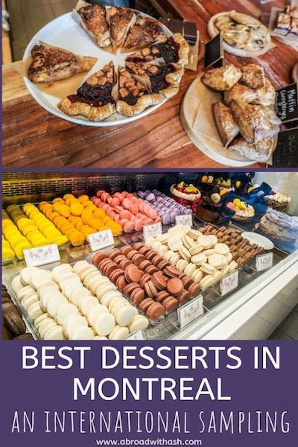 desserts in montreal
