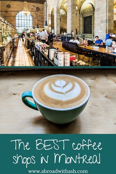 best coffee shops in montreal