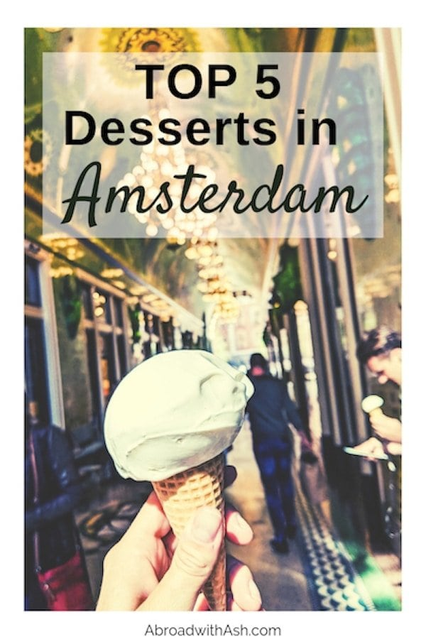 best desserts in amsterdam