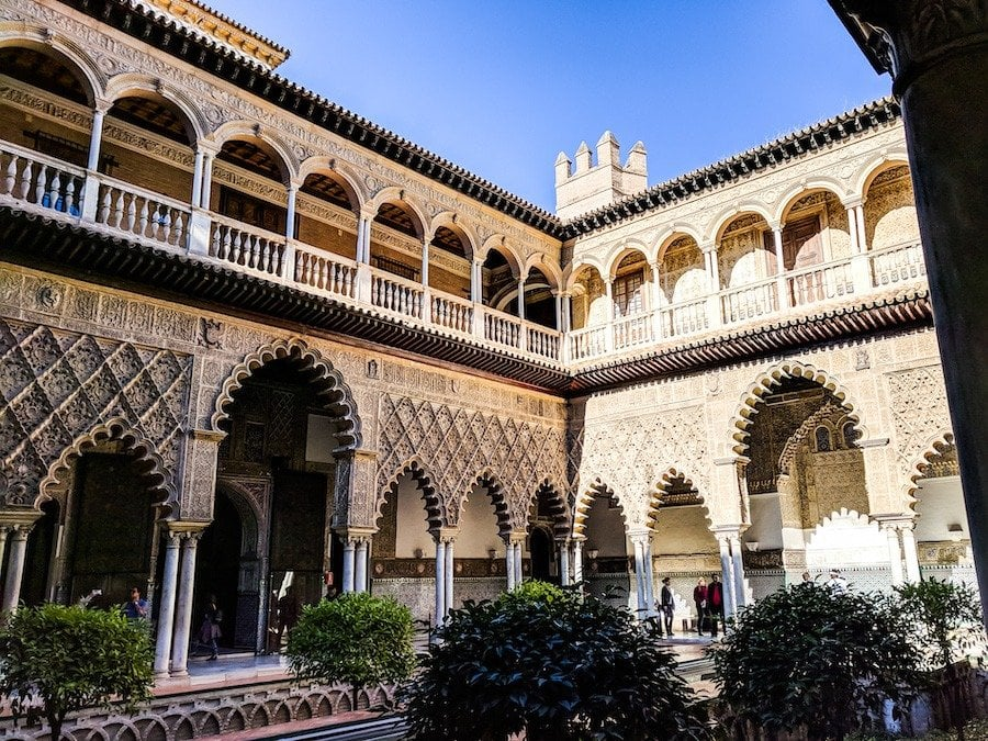 seville itinerary
