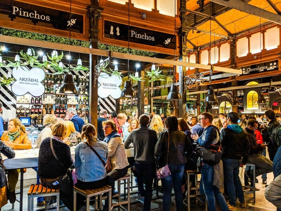 madrid food markets