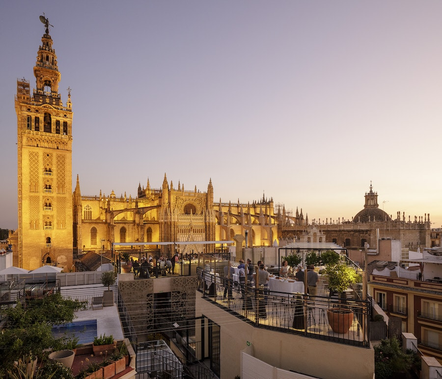 best rooftop bars in seville
