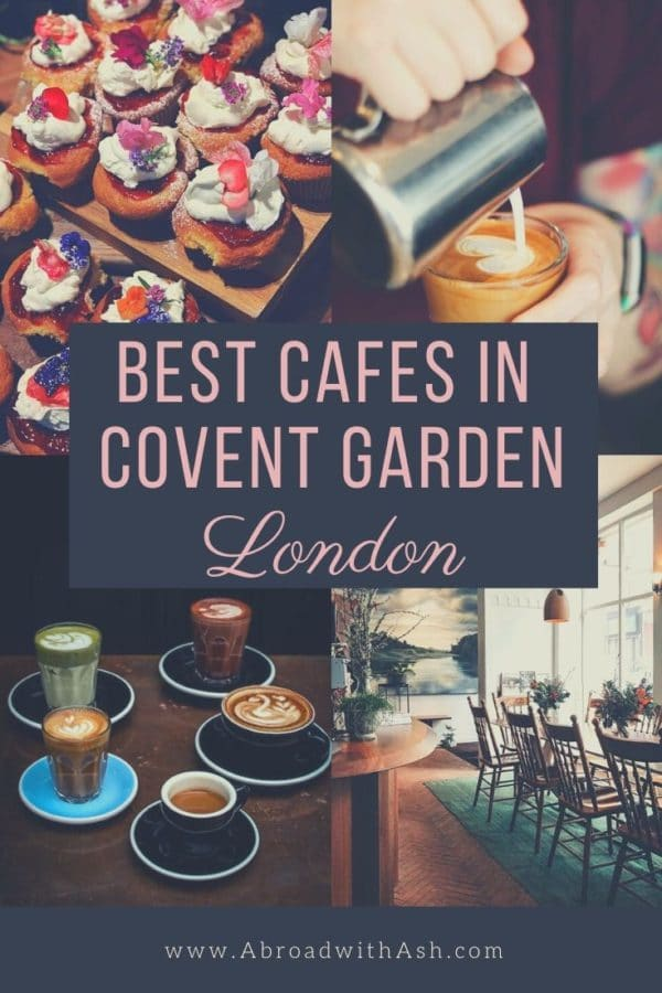 cafes in covent garden