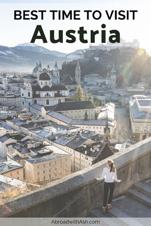 best time to visit austria