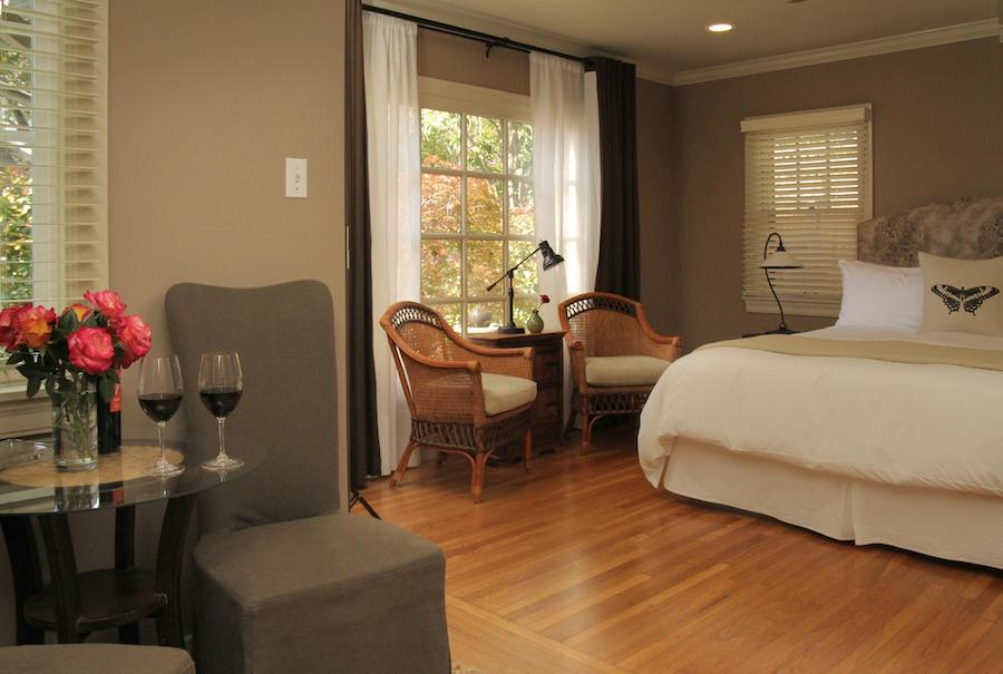 napa valley bed and breakfast